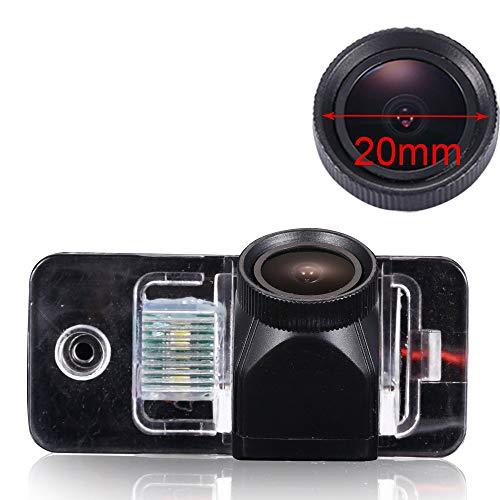 HD 20 mm lens camera achteruitrijcamera parkeercamera nachtzicht achteruitrijsysteem parkeerhulp IP68 waterdicht & schokbestendig voor Audi A3 S3/A4 S4 B6 B7 B8 8K 8H 8E/A5 MK1/A6 C6 C7 S6 4F 4G/A8 A8L S8 Mk3/Q7, Nr. 8036 (70 x 32 mm met schroef).