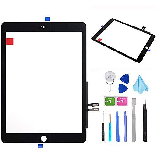 Tefir Negro Kit de reparación de digitalizador para iPad 9.7