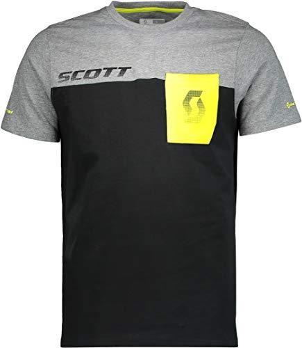 Scott 250432 Unisex - Erwachsene Fahrrad, Sulphur Yellow/Dark Grey Melan, L