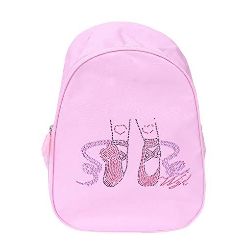 TENDYCOCO Toddler Backpack Ballet Dance Bag Ballerina Backpack Preschool Daypack for Kids Children