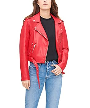 Best red leather jacket women Reviews