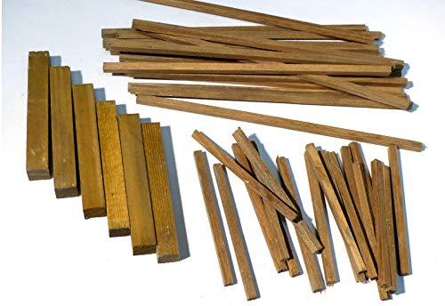 Unbekannt Zaunlatten für 90 cm Zaun, Bausatz, Pferdestall basteln