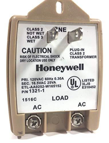 Honeywell Intrusion 1321-1 Transformer 16.5VAC 25VA