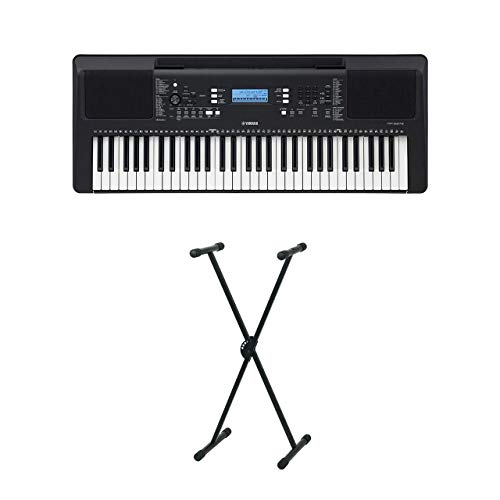 Yamaha PSR-E373 - Set tastiera con supporto