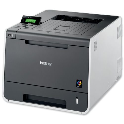 Brother HL-4150CDN kleurenlaserprinter (2.400 x 600 dpi, USB 2.0, duplex) antraciet/grijs