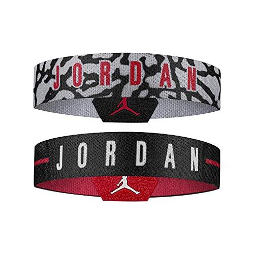 Jordan Pulsera Baller Bands Pack 2 Unidades Reversible NBA Basket (M-L) 🔥