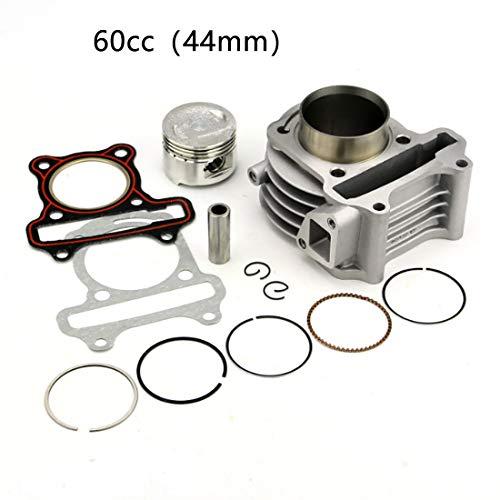 Woostar kit cilindro con pistone per 43/cc 49/cc 44/mm 2/Stroke gas scooter mini Pocket Bike