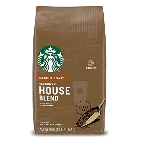 Starbucks Medium Roast Ground Coffee — House Blend — 100% Arabica — 1 bag...