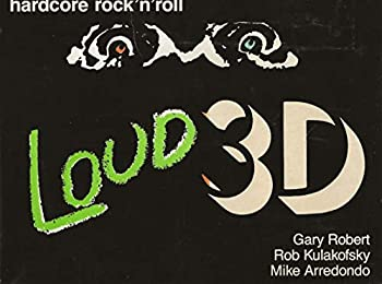 Paperback Loud 3D: Hardcore rock'n'roll Book