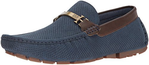 Tommy Hilfiger Men's ALVINS Shoe, Navy, 10 Medium US