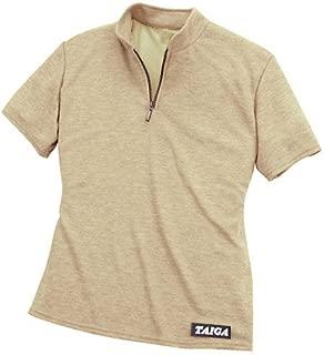 TAIGA Polartec PowerDry Quick Dry Polo T-Shirt, Women's. Made in Canada.