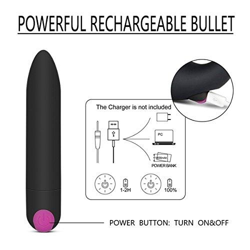Vibratoren für sie,Strapless Strapon Vibrierenden Dildo, G-Punkt Vibrator Anal Training mit 10 Geschwindigkeiten Power Wiederaufladbare Bullet Sex-Spielzeug für Frauen