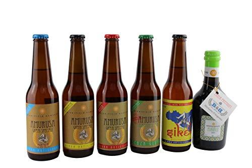 'AMURUSA' box degustazione 6 bottiglie da 330 ML - Birra Artigianale