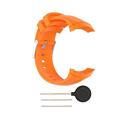 RipengPI - Correa de silicona para reloj inteligente Suunto Spartan Ultra Sport