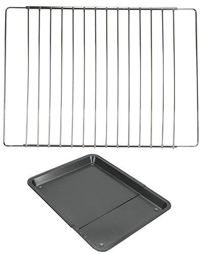 Unbekannt Ofengitter 33 bis 61 cm Backofengitter verstellbar Backofenrost + Backblech verstellbar Backofenblech Neu Setangebot