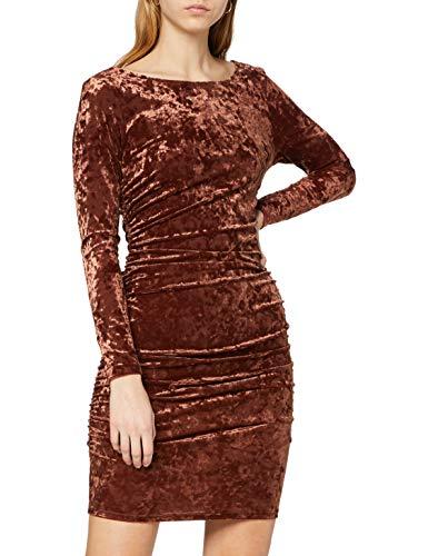 Ivy Revel DE damska sukienka aksamitna mini sukienka na imprezę