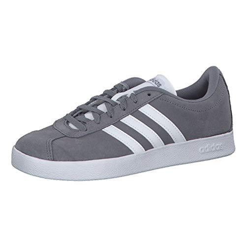 Adidas Vl Court 2.0 K, Zapatillas de deporte Unisex niños, Gris (Gris/Ftwbla/Gricua 000), 38 EU