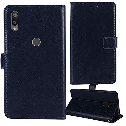 Lankashi Premium Retro Business Flip Book Stand Brieftasche Leder Tasche Schütz Hülle Handy Handy Hülle Für Gigaset GS190 6.1