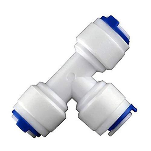IUwnHceE Kit de Limpieza de Conectores de Tubos de Agua purificador de Agua Junta de tubería de Agua para Las Fuentes Nevera Nevera Manguera 10M Muebles de jardín
