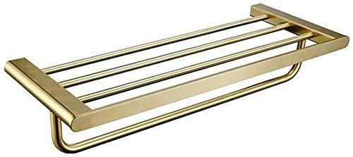 MMWYC Cuarto de baño Estante de la Toalla del Carril de Metal de Pared de Toallas Impermeables durables y de no-óxido del Hotel Hoteles Baño Decoración / 19.7~23.6 Pulgadas (Size : 50cm)