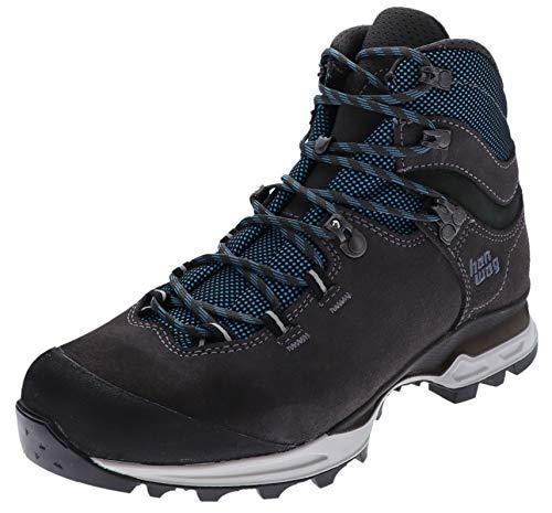 Hanwag Damen Wander Stiefel Tatra Lady Light LL Leder Hiking Schuhe Grau 39 EU