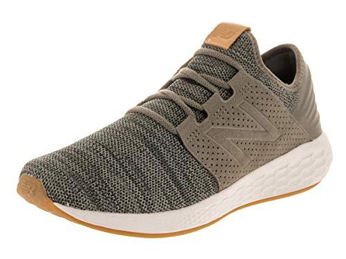 New Balance Mens Fresh Foam Cruz v2 Knit Military/Foliage Green/Rosin Running Shoe - 9 D