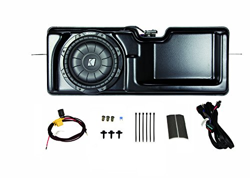 Kicker PF150S11 Multi-Channel Amplifier & Powered Subwoofer Kit for 2011-2012 Ford F150 Super Cab