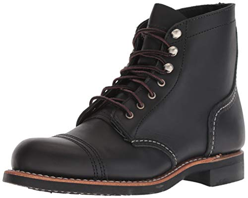 Red Wing Womens Iron Ranger 3366 Black Leather Boots 37 EU