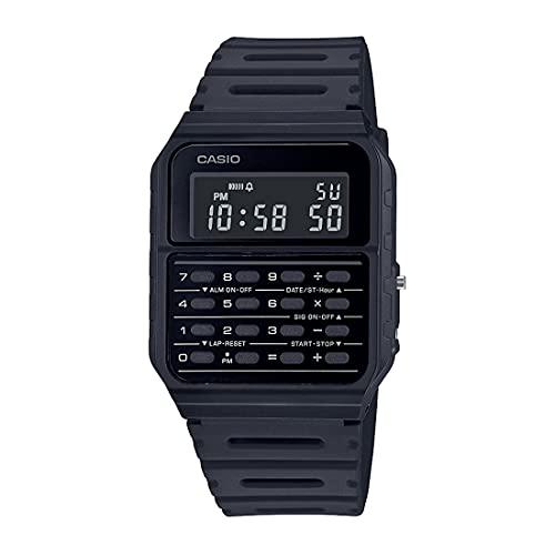 Casio CA-53WF-1B Calculator Black Digital Mens Watch Original New Classic CA-53