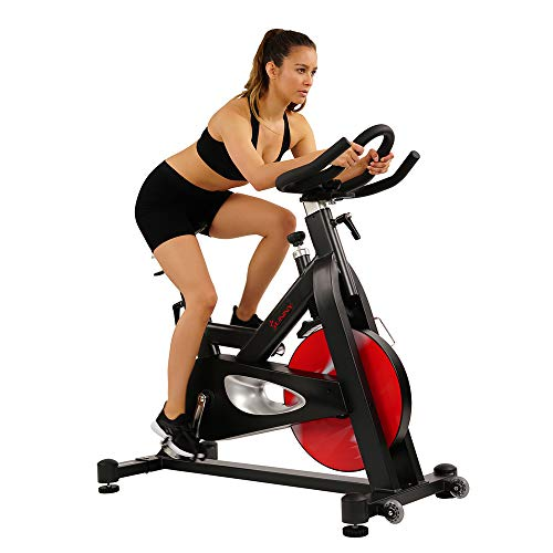 Sunny Health & Fitness Evolution Pro Indoor Spin Bike