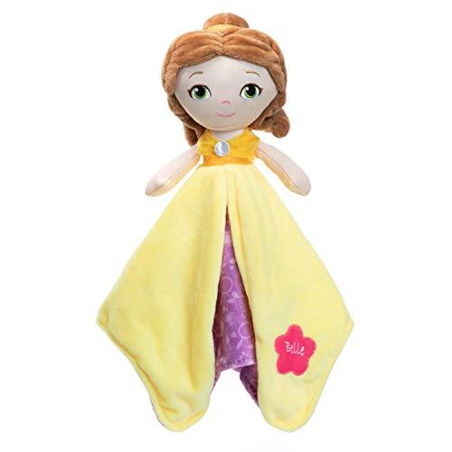 KIDS PREFERRED Disney Baby Belle Plush Stuffed Animal Snuggler Blanket