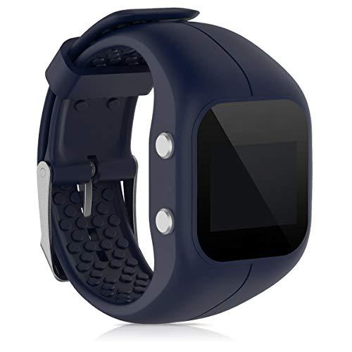 kwmobile Sportarmband kompatibel mit Polar A300 - Armband Fitnesstracker Band aus TPU und Silikon