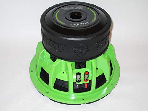 Ground Zero GZHW 20SPL - 20 cm subwoofer Green Edition