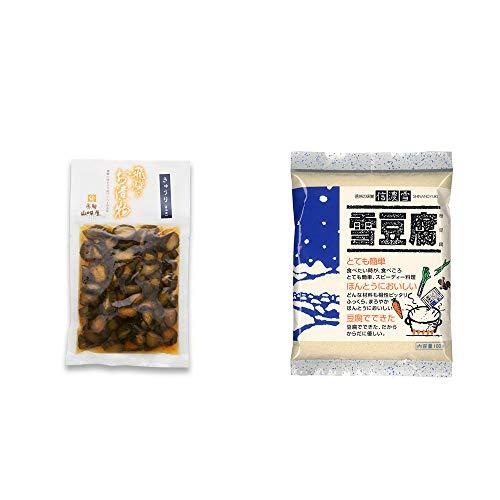 [2点セット] 飛騨山味屋 きゅうり醤油漬(150g) ・信濃雪 雪豆腐(粉豆腐)(100g)