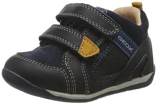 Geox Baby Jungen B Each Boy A First Walker Shoe, (Dk Navy), 19 EU