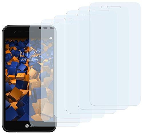 mumbi Schutzfolie kompatibel mit LG K4 2017 Folie klar, Bildschirmschutzfolie (6x)