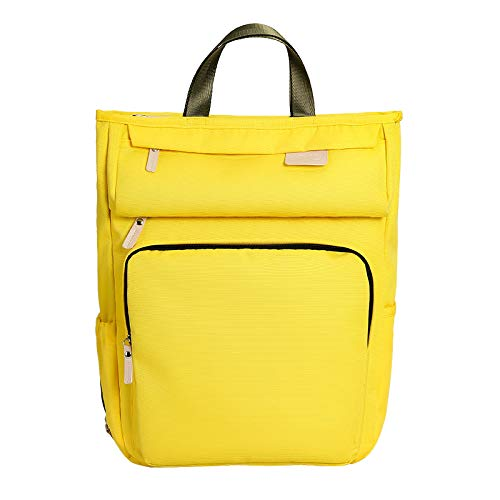 WOVELOT Mummy Bag New Multi-Functional Large-Capacity Maternal and Bag Mother Bag Pregnant Women Out Backpack Yellow