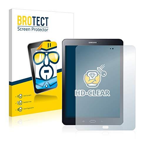brotect Pellicola Protettiva Compatibile con Samsung Galaxy Tab S2 9.7 Pellicola Trasparente (2 Pezzi) Anti-Impronte