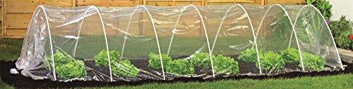 Pflanztunnel - durchsichtige Folie 5 Meter lang
