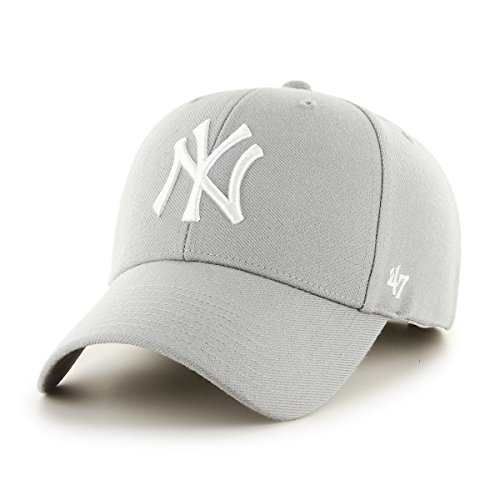 47 New York Yankees Casquette, Gris (Grey), Fabricant: Taille Unique Mixte