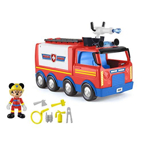 Mickey Mouse- Camión Super Rescue de Mickey – Disney (IMC Toys 186286)