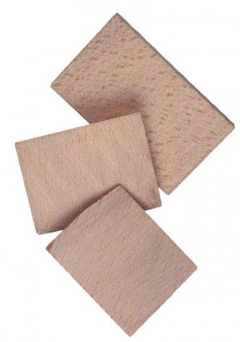Conmetall COXT856070 Stielkeile Holz, sort. 5 St, Mehrfarbig