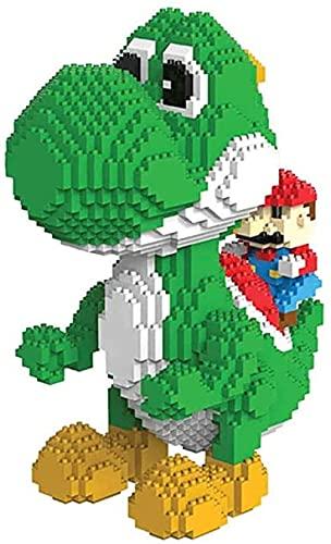 Skajowid Blocks Blocks Nano Micro Blocks 3D Puzzle Dinosaur Personaje DIY Toys Modelo de Juguete Ladrillos Bloques de construcción Nano-Mini Regalo de cumpleaños (2276 PCS)