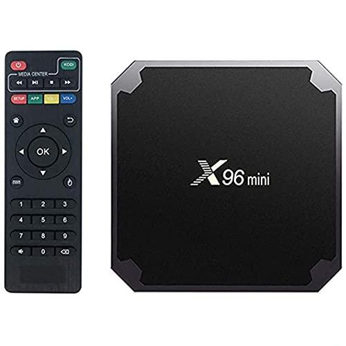 YP TV Box Android 10 4K WiFi Smart TV Box 2 Ram 16GB ROM con Mando a Distancia por Infrarrojos & 1M Cable HDMI Admite Mouse/Teclado Inalámbrico y TF Card y U Disco Puede Instalar la Aplicación