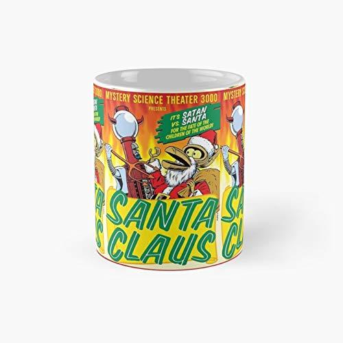 Mst3k Santa Claus Classic Mug   Best Gift Funny Coffee Mugs 11 Oz