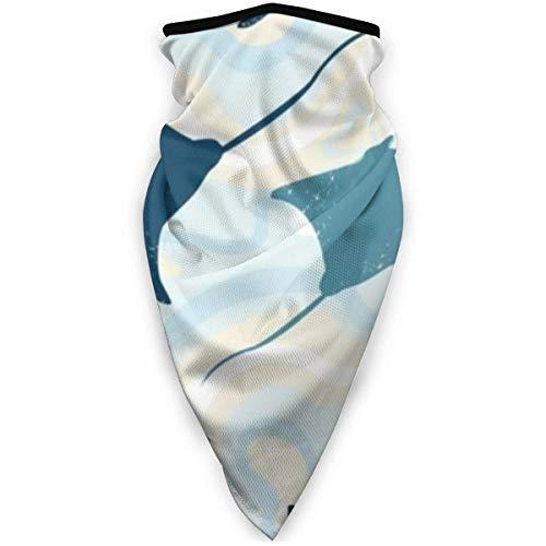 SGDSGSG Patrón de rayas de manta de natación Protección de la cara Boca Reutilizable Deportes a prueba de viento para hombres y mujeres Bandana Sol Protección contra el polvo del viento UV Correr a