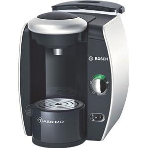 Bosch T40 TAS4011GB Coffee Maker, Silver