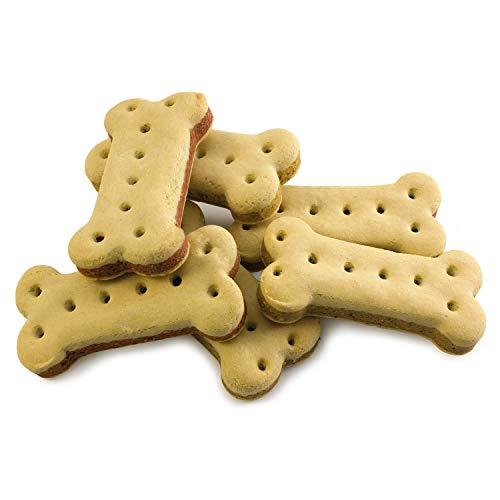 Arquivet Biscuits - Galletas para perros - Sandwich Biscuits con forma de hueso - Snacks para perros - Premios, chuches y golosinas - Alimento complementario perros - 5 kg 🔥