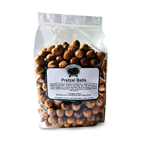 Walnut Creek Foods Pretzel Balls: Crunchy Salty Perfectly Healthy and Delicious Snack (1 Pound)