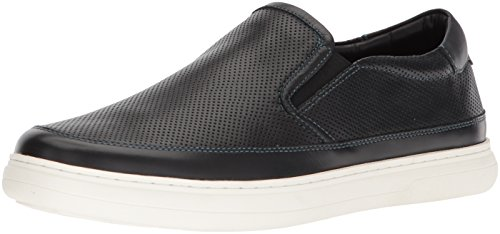 Donald J Pliner Men's Corbyn Sneaker, Black, 8.5 Medium US